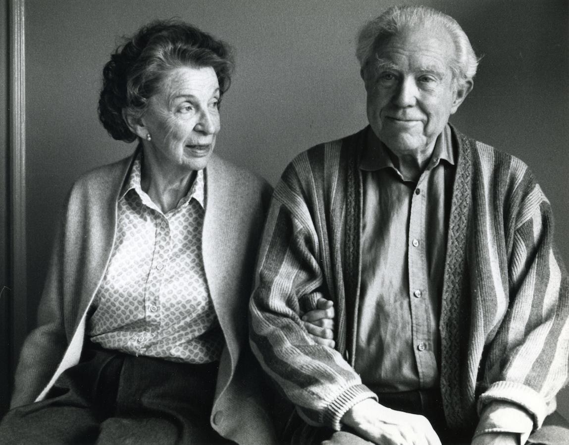 Helen and Elliott Carter